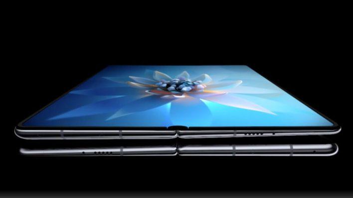 Huawei Mate X2 screen