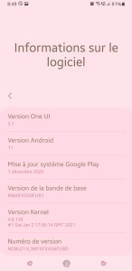 Samsung Galaxy Note 9 Android 11 ROM Mohamedovic 04