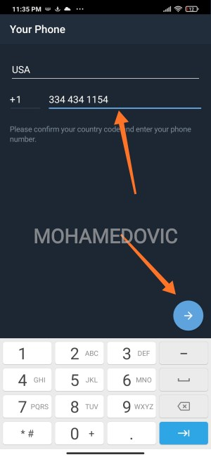 how to use telegram without phone number mohamedovic 07