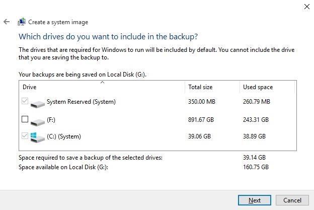 كيفية عمل نسخة احتياطية لنظام Windows 10 بدون برامج