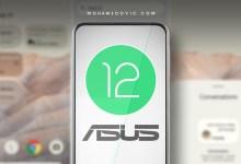 تحديث اندرويد 12 لهواتف اسوس