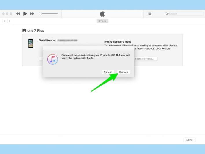 شرح طريقة عمل Downgrade على أجهزة iPhone