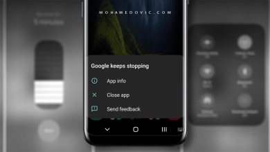 إصلاح خطأ Google Keeps Stopping