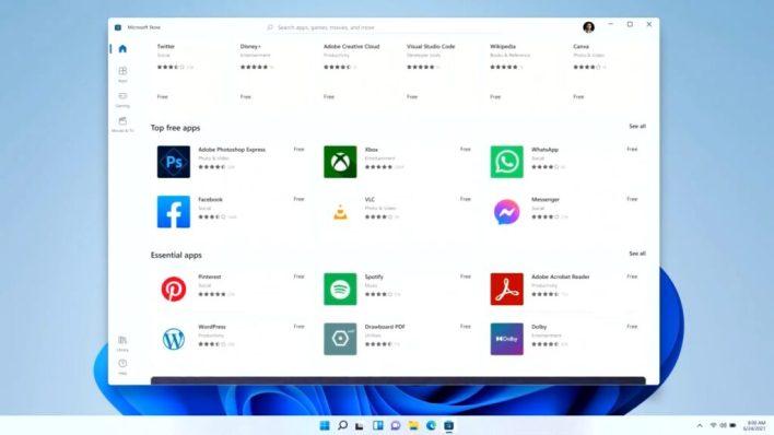 The new Windows 11 App Store