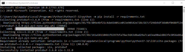 python package instaling