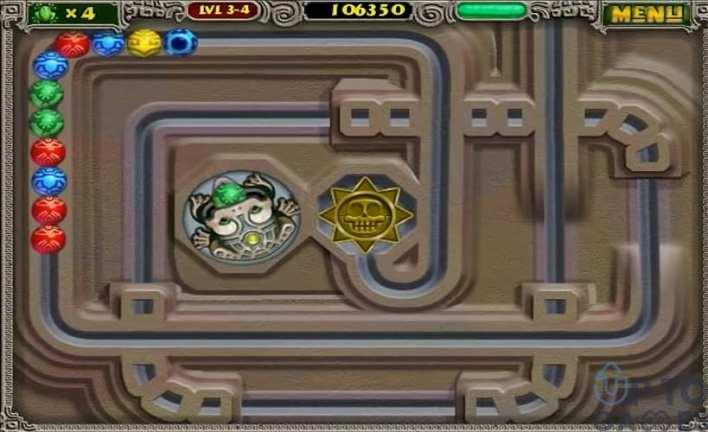 لعبة زوما القديمة (2)