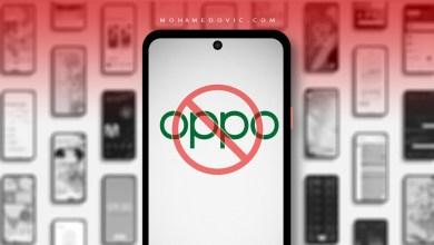 هواتف من اوبو لن يتم تحديثها إلى اندرويد 12