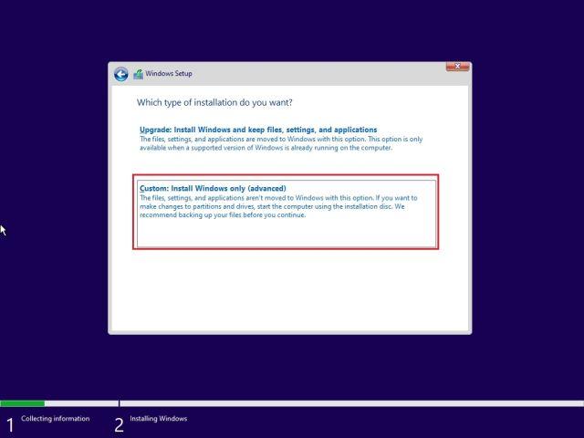 Windows 11 Clean Installation 01