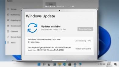 ويندوز 11: تحديث جديد للمطورين تحت رقم 22454.1000 يأتي بعِدة ميزات جديدة!