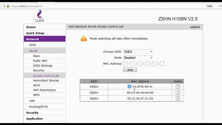حظر المتصلين بالراوتر بواسطة برنامج Ubnt-Discovery اخر اصدار