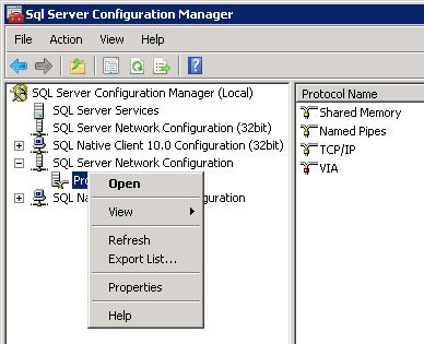 V-40907 SQL Config Manager