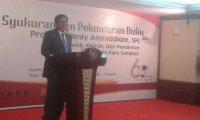 Syukuran Ulangtahun 60th & Peluncuran Buku Prof. Jimly Asshiddiqie. 16 April 2016