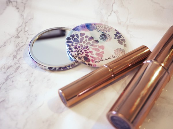 miroir de poche make up mohanita creations