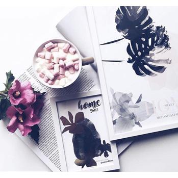magazine féminin chamalow fleurs flowers affiche poster tropiques tropical blog blogger designer lifestyle collaboration pauline dress besançon france franche comté home interior design décorations créateur original