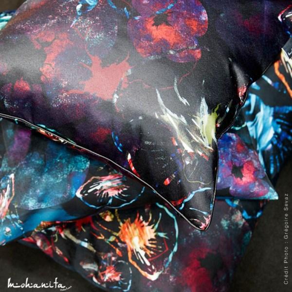 coussins housse de coussins canape deco maison toucher sati, velours passepoil cuir simili cuir matiere elegance chic