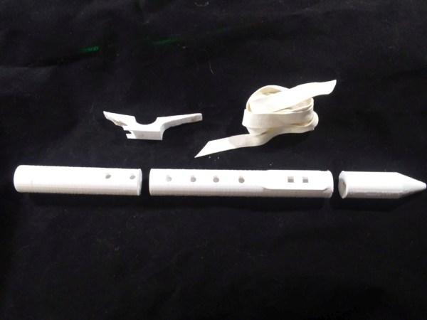 Native American Style Flute 3D designed Kit