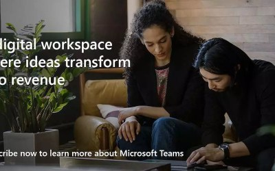 A digital workspace that transforms ideas into revenue. Subscribe now to learn more about Microsoft Teams.