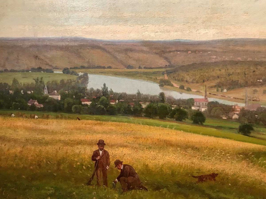 Mohawk Valley at Canajoharie by Edward Gay 1876, Oil on Canvas (Detail) Arkell Museum Canajoharie NY | Mohawk Valley Today