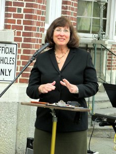 Mayor Ann Thane. Photo by Catherine Pikul.
