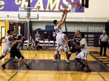 Rodriguez headed for the basket