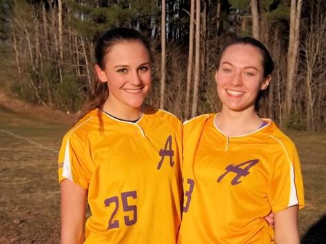 Jessica Gardinier and Callie Lindsay