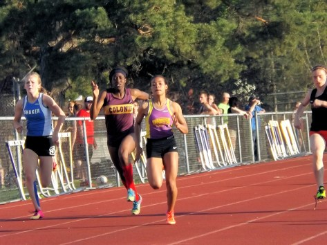Brenda Santana's record breaking run