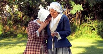 Stark as Lana Martin with Lisa Kruger as Mrs. McKlennar
