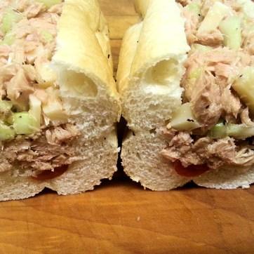 Tuna in Oil Sub. Photo provided