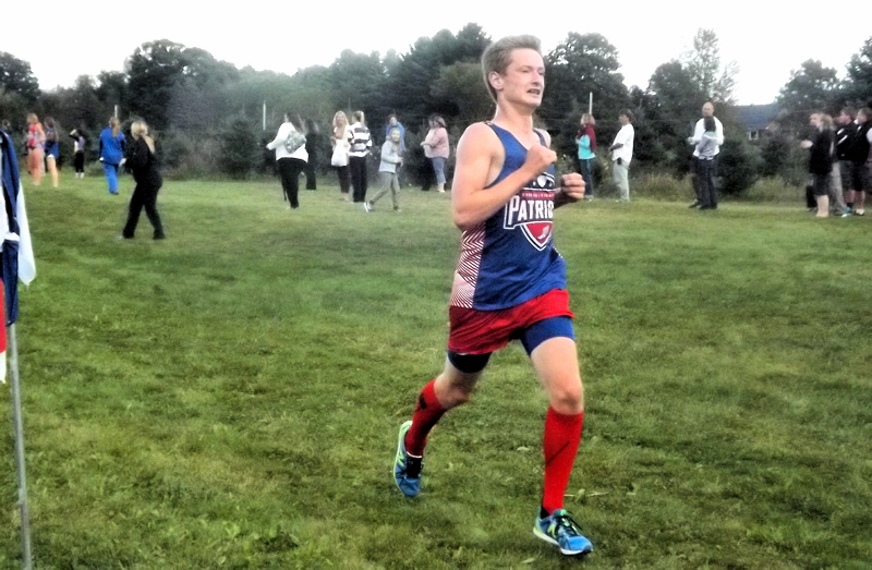 Lance Jennings, top finisher in the boys race