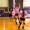 Lady Rams volleyball team wins five game thriller
