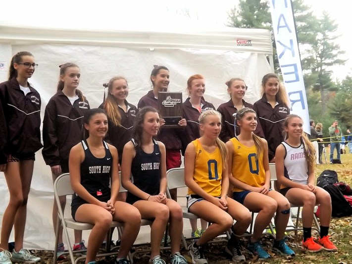 Section 2 Class B girls state team