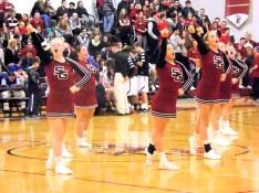 SGHS cheerleaders