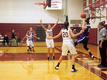 Nina Fedullo saves the play