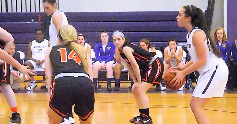 AHS Lady Rams basketball top Schuylerville for fifth straight win