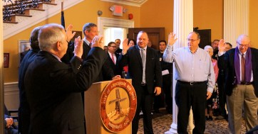 Common council members are sworn in