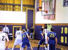 Battling for the rebound