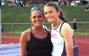 Stanavich with her aunt Amanda Davey