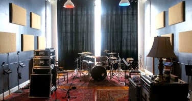 Recording room for RDR Audio, in the Sanford Clock Tower
