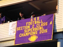 Amsterdam unveils it's new championship banner