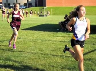 Olivia Lazarou in the lead