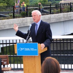 Bill Finch, acting executive director of the Thruway Authority and Canal Corporation