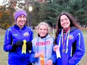 BPHS top 25 girls finishers