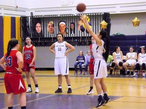 Grace Catena's 100th point