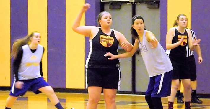 AHS Girls basketball scrimmage Berne-Knox-Westerlo