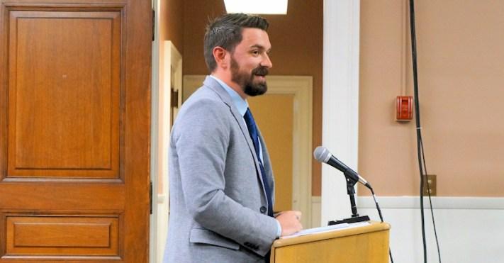 Anthony Ceroy, vice president-development for KCG Development