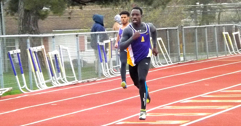 AHS track and field teams pick up win against Johnstown