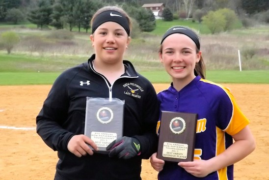 Sierra Rose and Megan Lamont, tournament MVP's