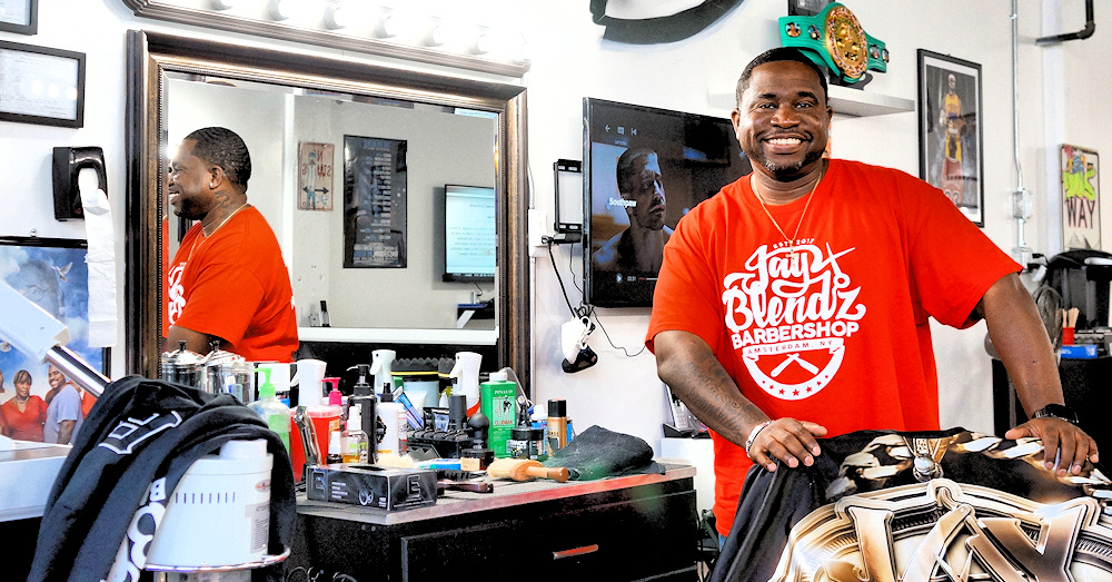 Jay Blendz brings Brooklyn-style barbershop experience to Amsterdam