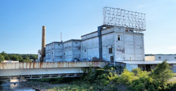 Old Beech-Nut facility in Canajoharie