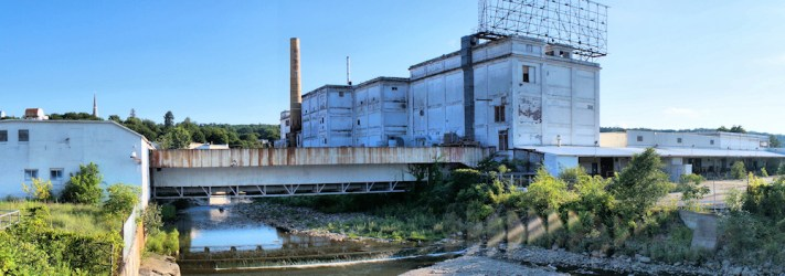"""Former """"Beech-Nut"""" facility in Canajoharie, NY, sold by Beechnut Nutrition in 2013 before moving to the Town of Florida, NY"""